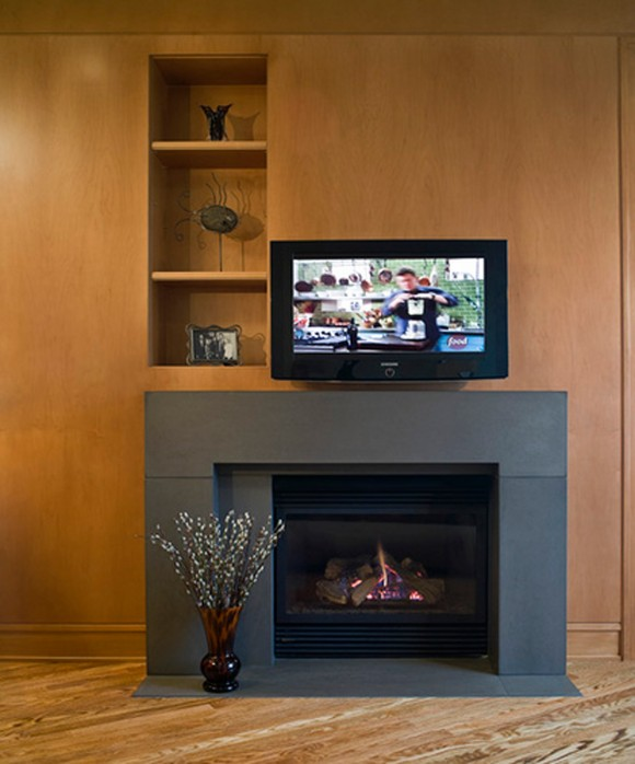 contemporary fireplace designs layouts