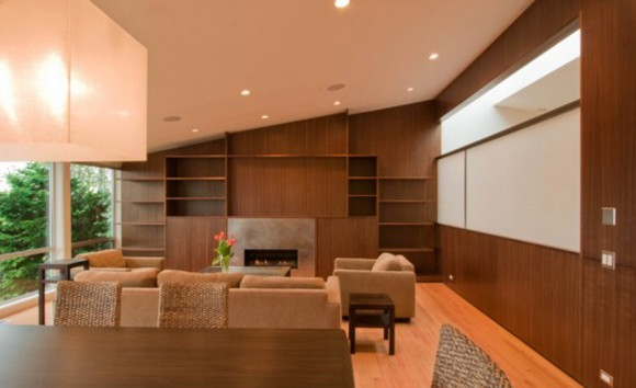 contemporary living room remodeling