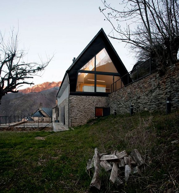 contemporary mountain house designs