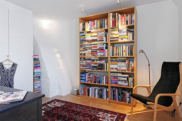 contemporary reading corner layouts