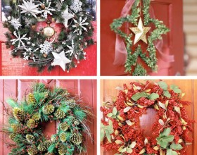 decorative christmas wreath ideas
