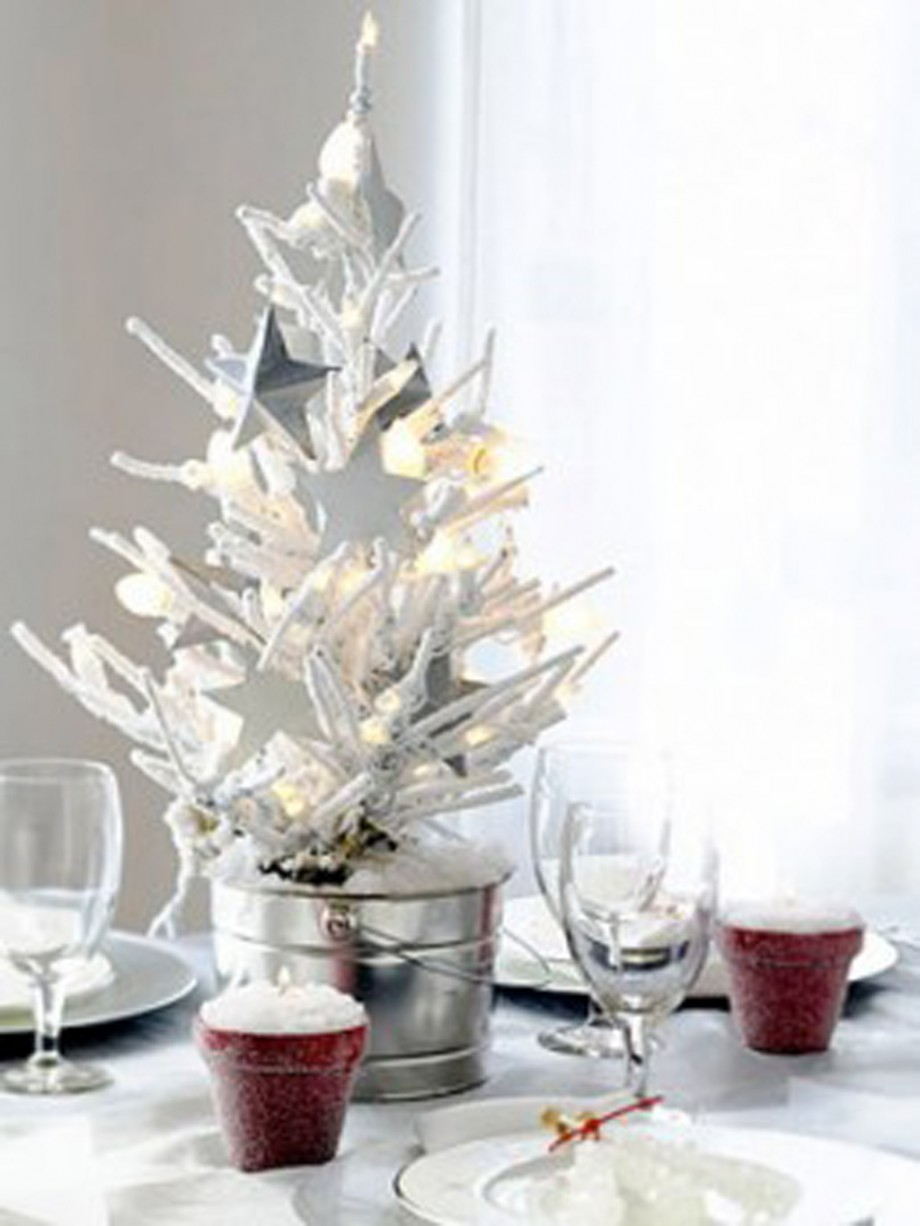 extraordinary Christmas tabletop decors