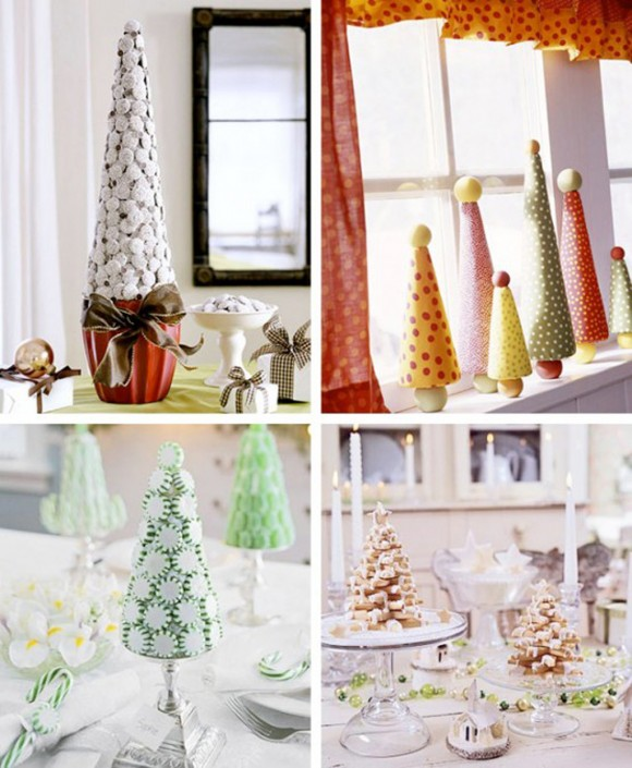 fashionable christmas tabletop decor