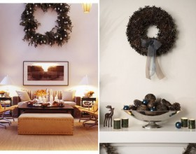 green Christmas wreaths designs