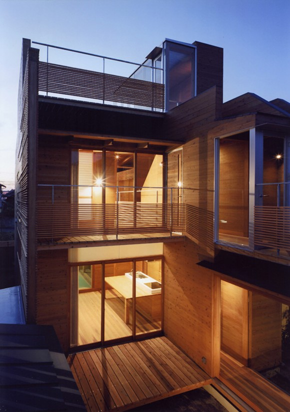 high exposure  wooden house inspirations