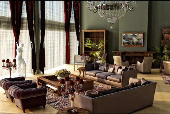 lavish living room furniture plans