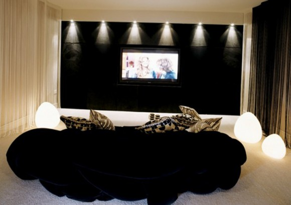 luxury movie room decorations plans