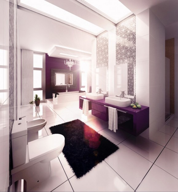 minimalist bathroom decor layouts