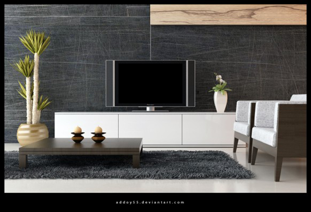 Remarkable Modern Living Room TV Wall Unit 1024 x 699 · 285 kB · jpeg