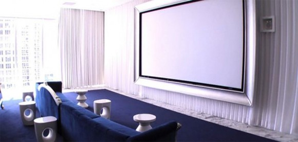 minimalist movie room ideas