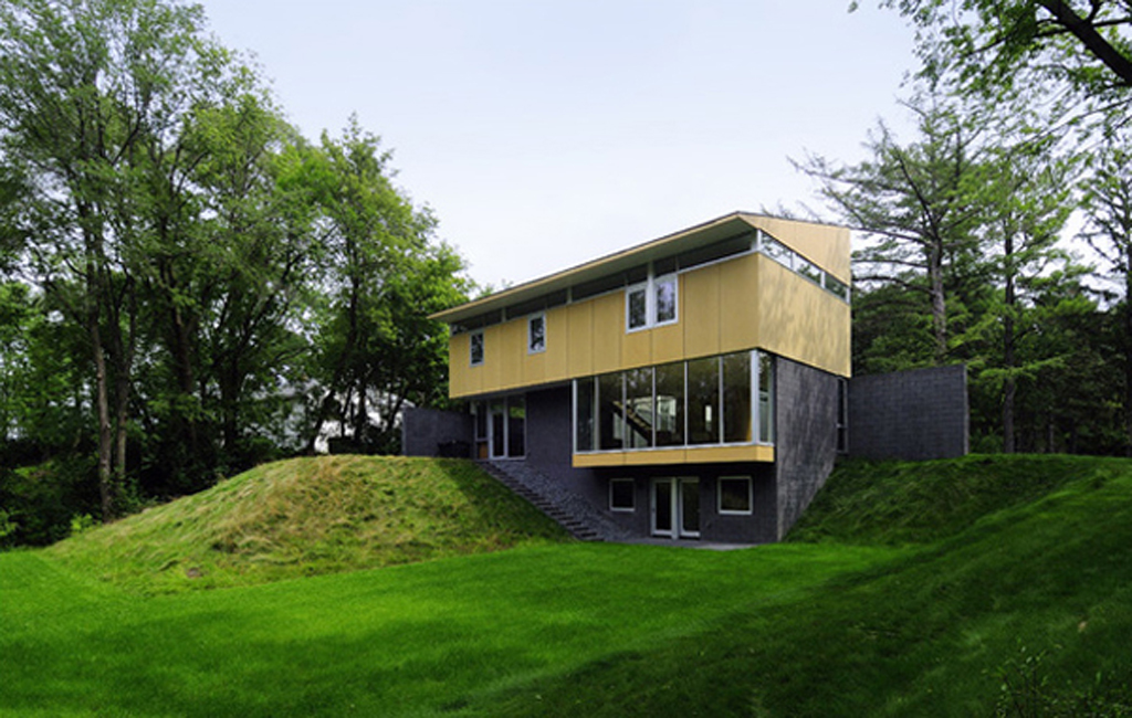 Modern forest house designs inspirations for Modern forest house design