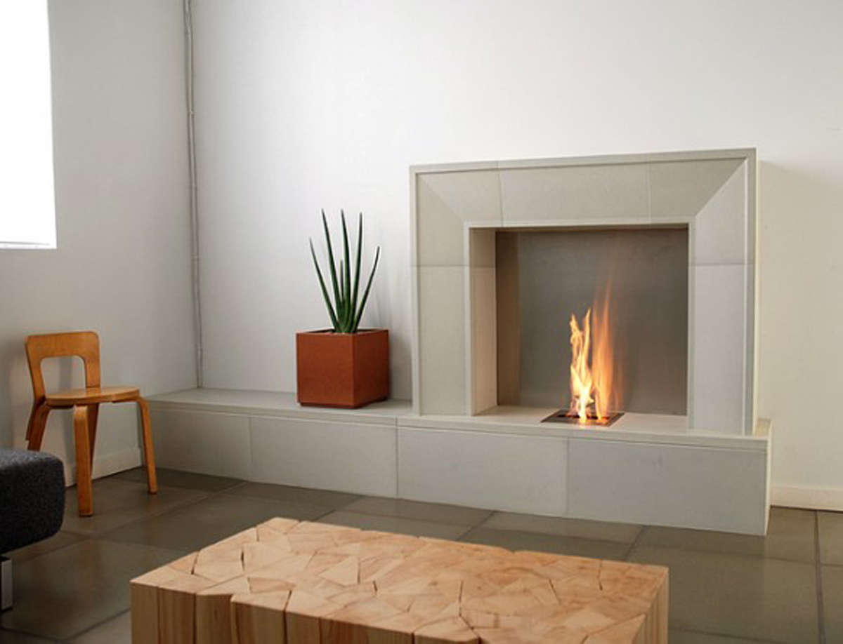 Simple Gas Fireplace Ideas