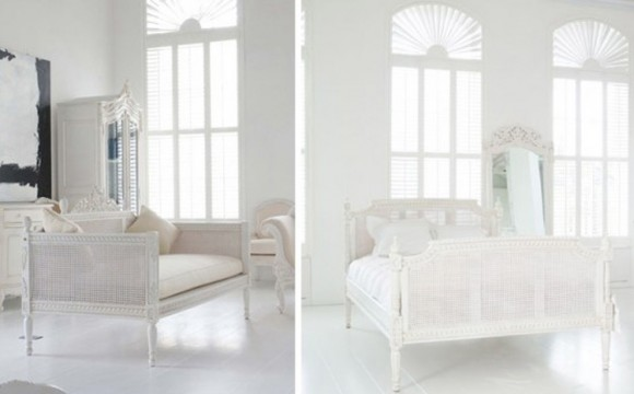 simple white interior designs
