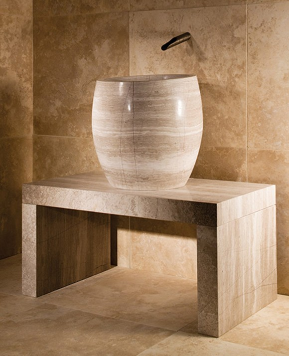 stone wash basin designs ideas