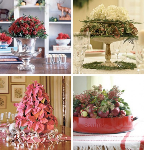 stylish Christmas centerpiece ideas