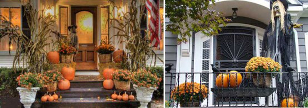 Unique house exterior layout for 90 cool outdoor halloween decorating ideas