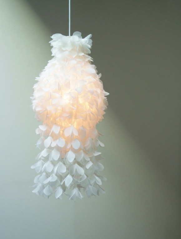 unique paper lighting decor