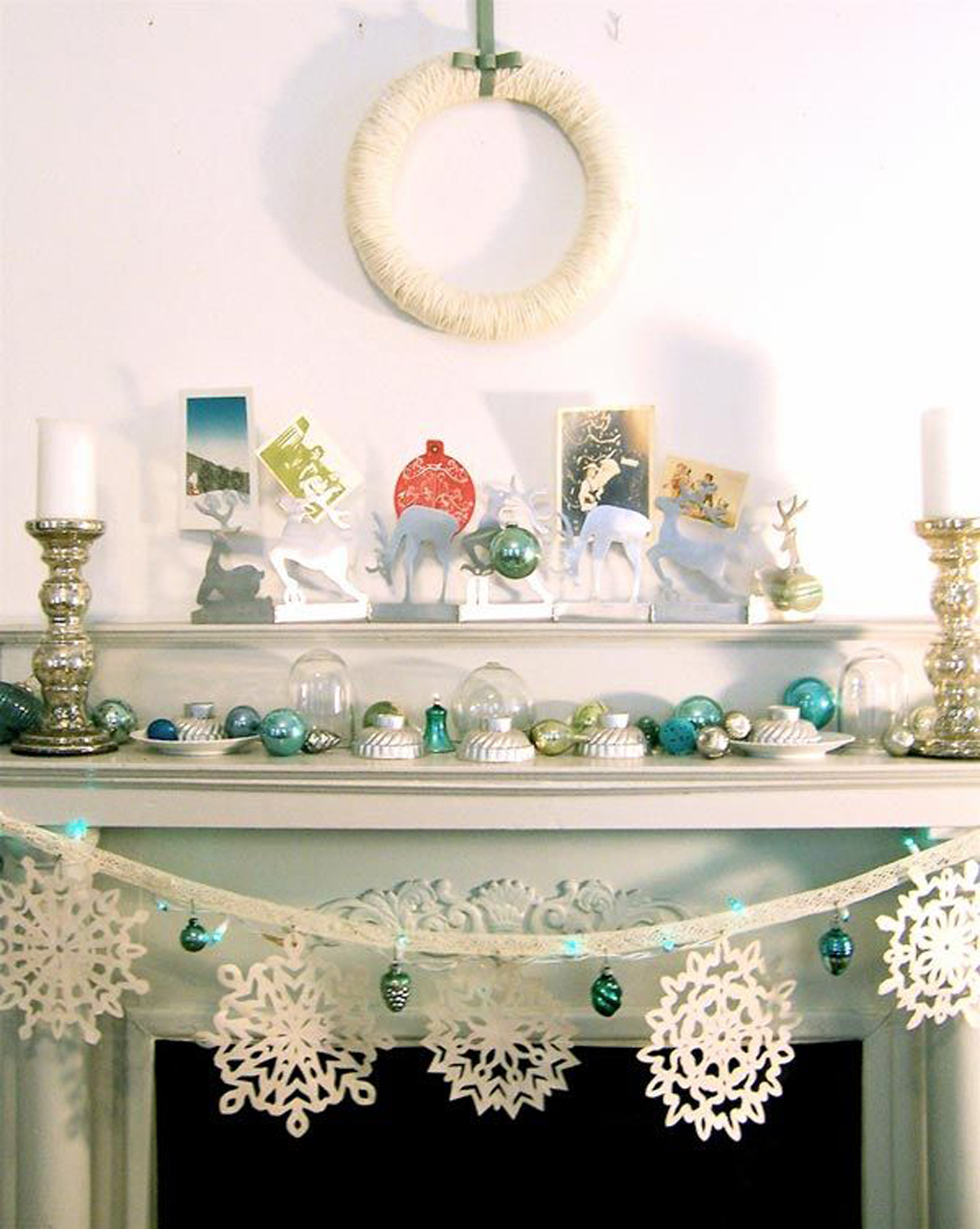 Christmas Decorations Ideas: White Christmas Decorating Ideas .