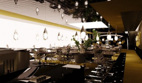 delightful restaurant decorations ideas