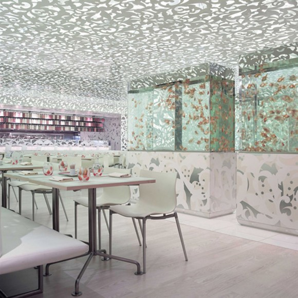 innovative Chinese restaurant interior