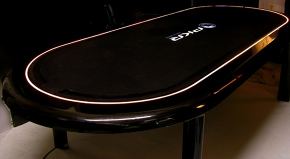 modern poker table designs