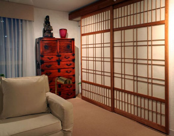 modular sliding door decorations