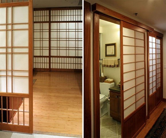 practical japanese sliding door plans