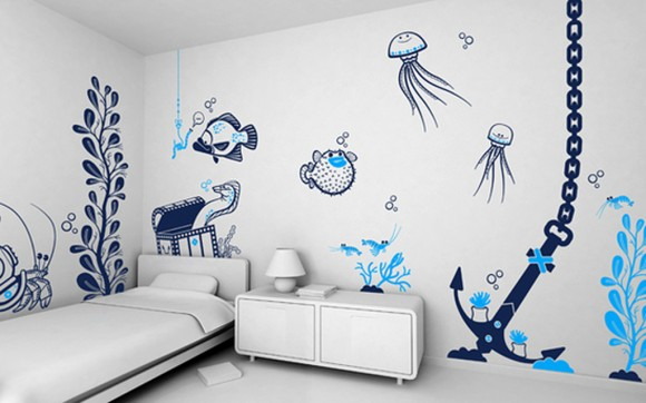 practical wall decals for kids