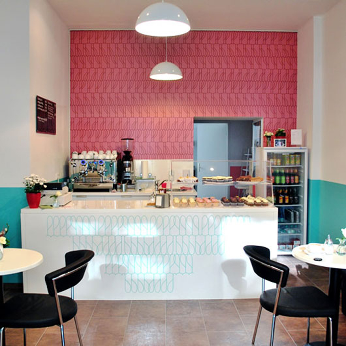 Retro cake shop designs for Design shop de
