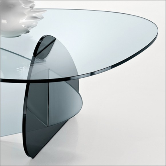 translucent glass coffee table layouts