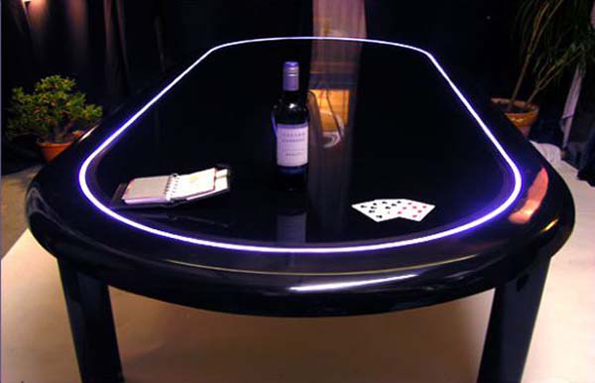 Super Cool Dining Table Into Poker Table Designs Iroonie Com