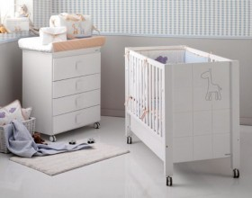 artistic baby nursery furniture ideas