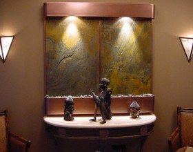 artistic wall fountain ideas
