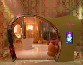 astonishing Karim Rashid restaurant design