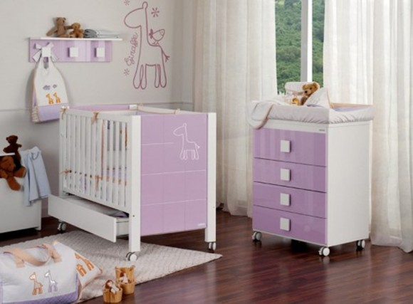 attractive nursery furniture layouts