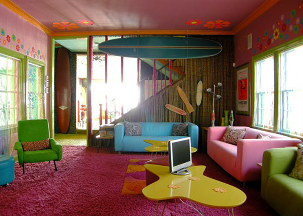 Colorful Living Room Interior Design One of 6 total Snapshots Multi