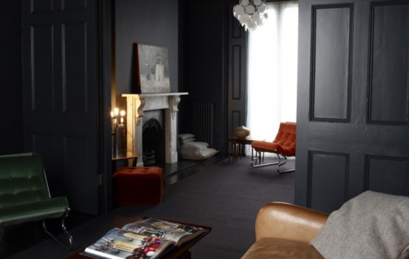 cozy dark interior inspirations
