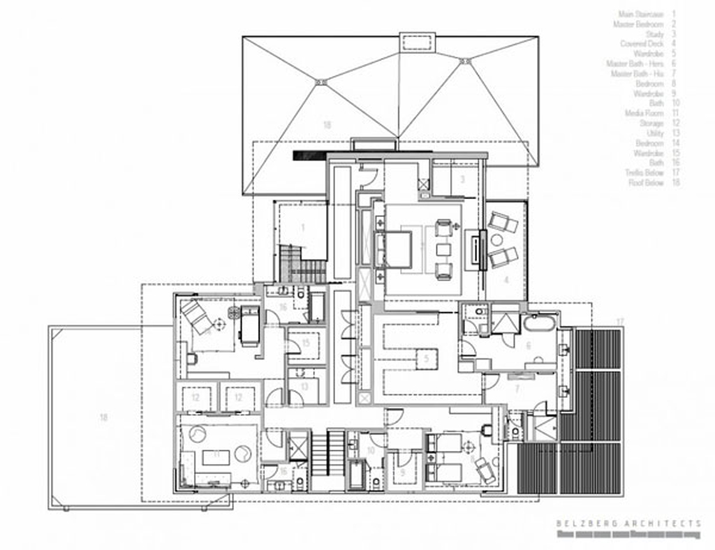 Elegant urban house drawing for Urban house plans