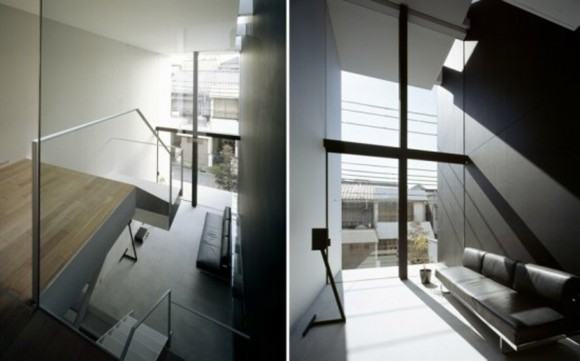 lights and airy japanese house interior