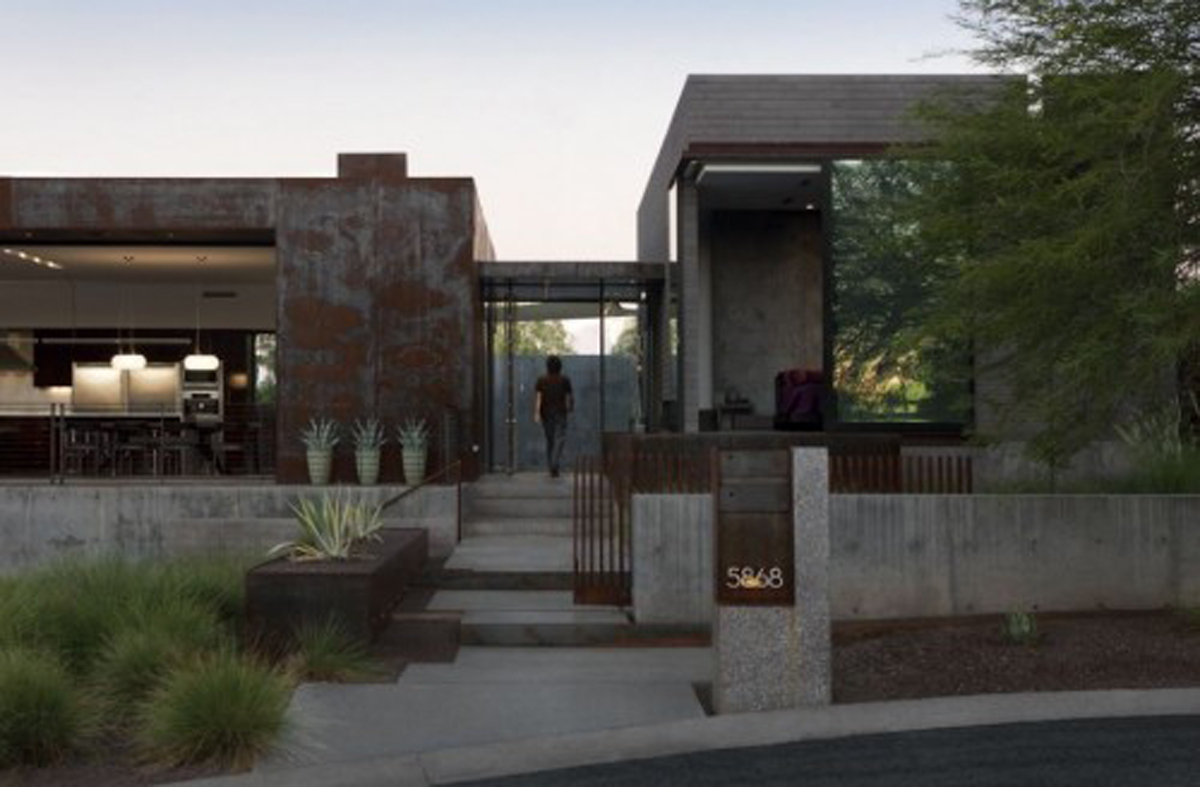 Modern arizona dream home design for Dream home design