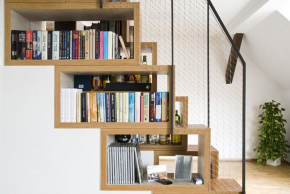 multifunctional wooden staircase inspirations
