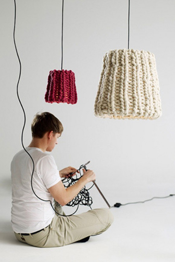 practical knitted lamp applications
