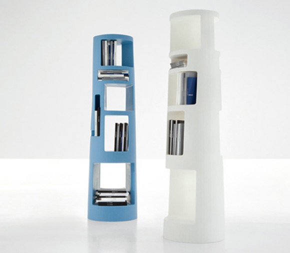 uniquely five tier bookshelf system