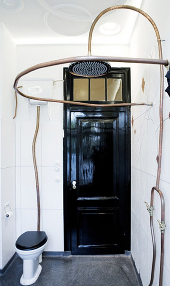 uniquely sculptural bathroom applications