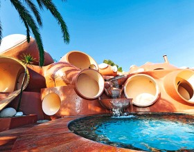 bubble outdoor swimming pool layouts