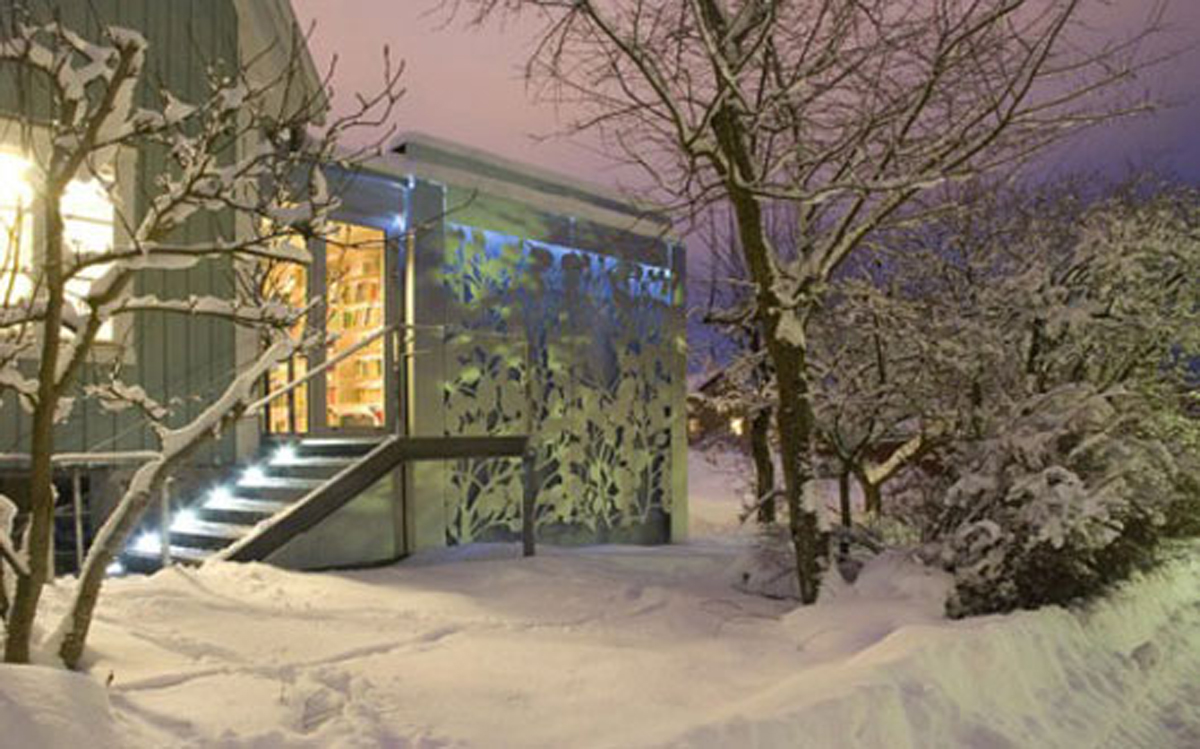 Incredible aluminum house designs for Incredible house designs