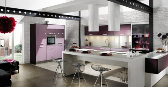 large futuristic kitchen ideas