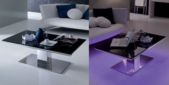limited glowing coffee table plans