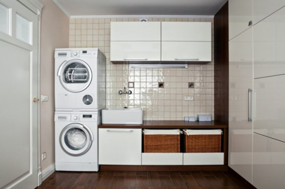 maximizing small laundry room tips