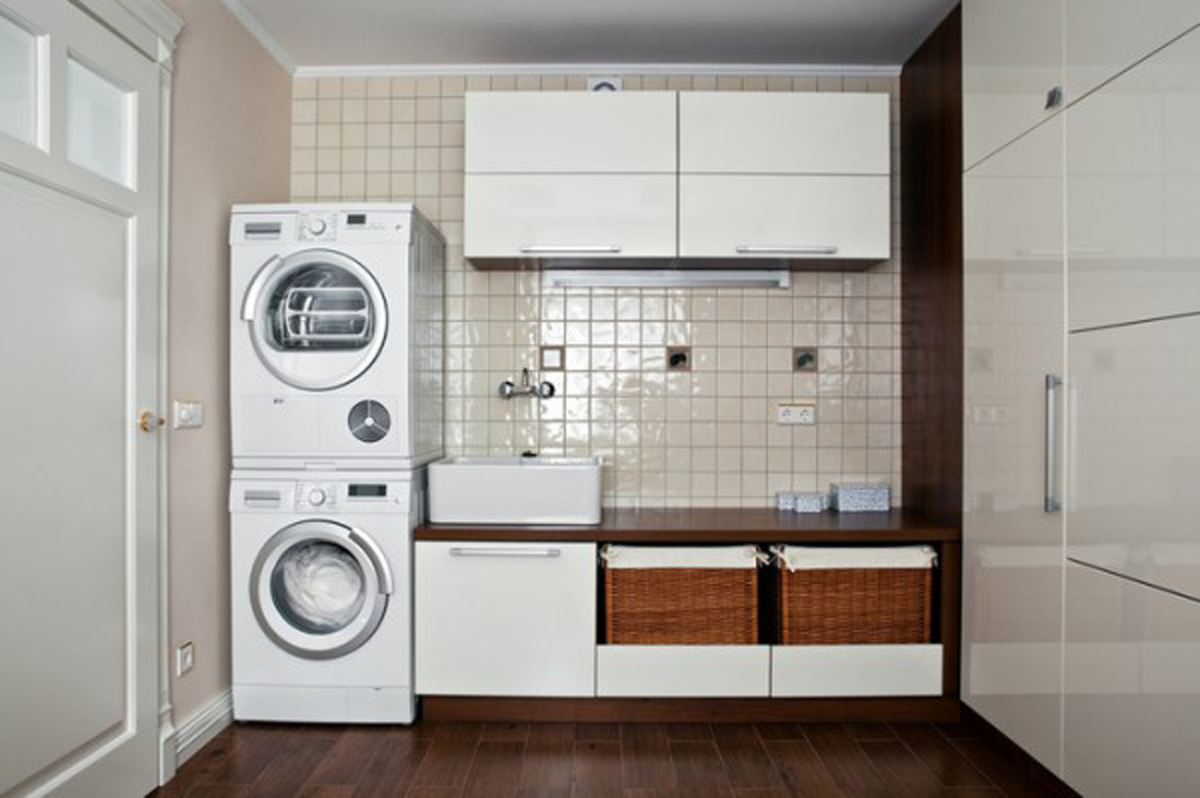 Maximizing Small Laundry Room Tips and Ideas with Modern Laundry ...